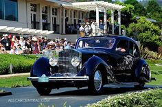 1932 Rolls-Royce Phantom II Continental Figoni & Falaschi Pillarless Berline