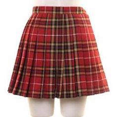 Red Skirt School Uniform (4L)