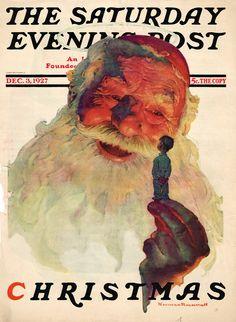 Norman Rockwell, Dec. 3, 1927. Saturday Evening Post