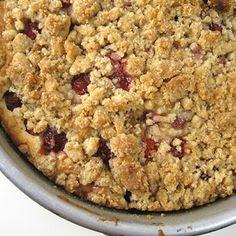 Sour Cherry Coffee Cake III Recipe