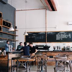 thejonmartincom: Check out thelittleblackcoffeecup.com for a first look inside @boxcar_social's brand new #Riverside location #Toronto by thelittleblackcoffeecup http://ift.tt/1Sz2SPw