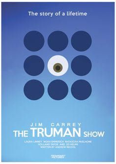 The truman show poster / Minimal poster