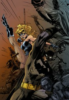 Black Canary Jim Lee