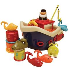 B. Toys B. Fish and Splish Boat - 18183896 - Overstock.com Shopping - Big Discounts on Bath Toys