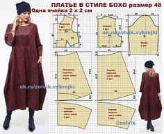 El patrón del vestido // Taika