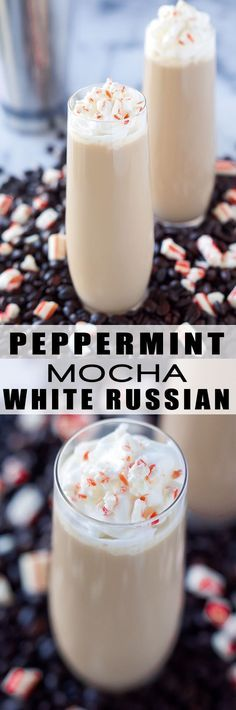 This Peppermint Mocha White Russian