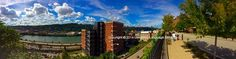 Round 2 finalist Gabriella Vaccaro's photo of a beautiful day at Duquesne University.