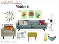 Mid Century Modern!! I love this style!