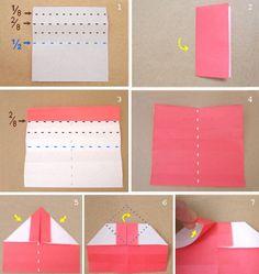 Hermosos tutoriales para hacer anillos de compromiso de origami ⋮ Es la moda