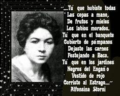 PALABRAS COMUNES Y ETERNAS.: ALFONSINA STORNI (ARGENTINA)