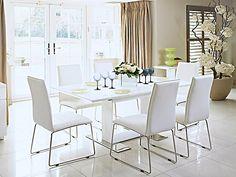 Dining Table Oval Ikea Gidea Gloss White