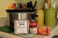 Crock Pot - Pork, baked potatoes, corn on the cob! Crock Pot Slow Cooker, Crock Pot Cooking, Slow Cooker Recipes, Crockpot Recipes, Corn Relish, Pinterest Projects, Main Dishes, Pork, Baked Potatoes