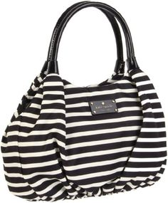 NEVER in my life have I ever wanted a purse so bad!! <3 Kate Spade New York Kate Spade Nylon Stripe Small Karen Shoulder Bag