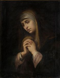 """and you yourself a sword will pierce so that the thoughts of many hearts may be revealed."""" Luke // The Virgin of Sorrows / La Dolorosa // c. Religious Pictures, Jesus Pictures, Blessed Mother Mary, Blessed Virgin Mary, Madonna Images, Esteban Murillo, Lady Of Mount Carmel, Crucifixion Of Jesus, Our Lady Of Sorrows"""