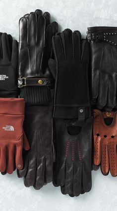 Glove season.  Via @nordstrom. #gloves #winteraccessories - like the leather gloves with rib knit cuffs