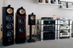 Bowers & Wilkins 802, 803, 805, Linn, Accuphase et Naim