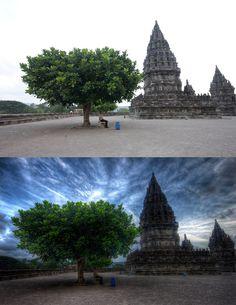 HDR before & after Photo - strange-lands.com