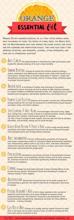 13 Outstanding Benefits of Orange Essential Oil