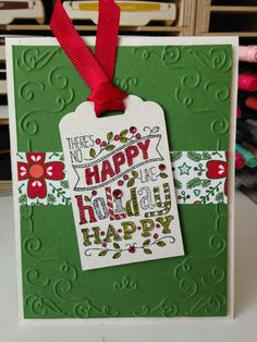 "Stampin' in the Sun!: Five Cards, One Stamp Set: ""Mingle All the Way"""