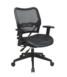 Space 13 Series Office Chair Deluxe Dark Air Grid Seat And Back