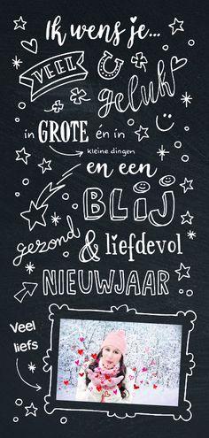 #creagaat nieuwjaarskaart met de beste wensen