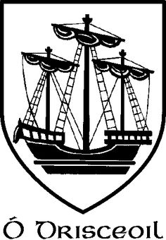 Our O Driscoll coat of arms.