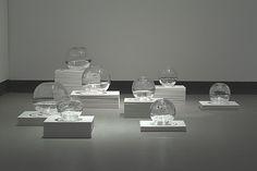 JP - Chill Factor (2005-2007) - gallery installation views - Jocelyne Prince, contemporary art conceptual glass