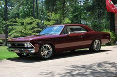 custom painted 1967 Chevelle SS | 1966 Chevelle SS | Hurst Custom Classics