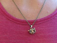 Flower Basket/ Essential Oil Diffuser Necklace from AstroScent by DaWanda.com