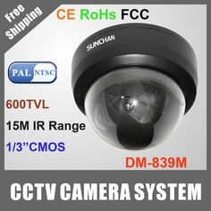 """Find More CCTV Cameras Information about FREE SHIPPING 600TVL 1/3"""" CMOS Dome Camera Home Video CCTV Surveillance with 3.6/6mm Lens,High Quality surveillance cctv camera,China dome sony camera Suppliers, Cheap camera from Sunchan Development(Shenzhen)Co.,Ltd on Aliexpress.com"""