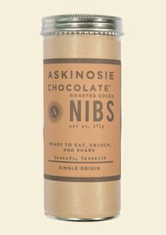 delectable roasted cocoa nibs from askinosie chocolate Chocolate Pack, Chocolate Heaven, Raw Chocolate, Artisan Chocolate, Tostadas, Tanzania, Cacao Benefits, Health Benefits, Store