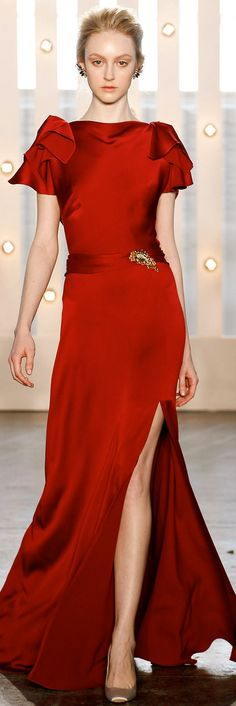If we were dressing Kate Middleton, she'd wear these Jenny Packham runway…