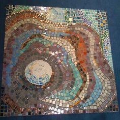 """The pearl"" mosaic by Synnøve Rønnestad #myart #mosaic"