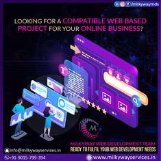 Looking for a compatible Web based project for your online business? Milkyway Web Development Team Ready to fulfil your Web Development Needs Call ☎️ at : +91-9015-799-394 . . #development #websitedevelopment #webdevelopment #website #websitedesign #webdesign #developer #designing #technology #ecommerce #creative #design #software #softwaredevelopment #startup #business #digitalmarketing #socialmedia Website Development Company, Software Development, Parallax Website, Creative Design, Web Design, Ecommerce, Online Business, Digital Marketing, Social Media