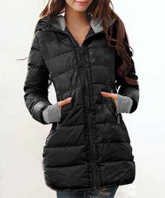 New Warm Winter Women s Down Jacket Hooded Parka Coat Long Puffy