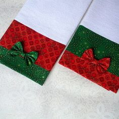 Imagem do produto 1 de 3 Christmas Towels, Christmas Crafts, Christmas Decorations, Christmas Ornaments, Kitchen Hand Towels, Dish Towels, Sewing Crafts, Sewing Projects, Towel Crafts