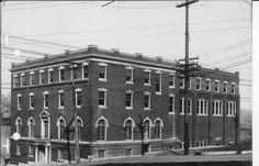 YMCA, corner of Third and Market Streets in Alton. The Alton YMCA began in 1883. They used various meeting places until 1907, when a new facility was completed. Fire gutter it in 1914, but was rebuilt in 1915. From Hayner Library