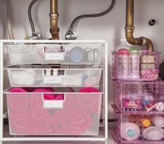 Organize Cosmetics & Toiletries: The Strategy | No matter what you store there, these simple tricks and foolproof strategies will keep that area in tip-top shape.