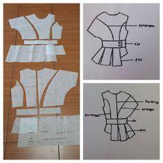 Assymetry tops pattern as seen.  Order by click our link / line : modelliste  #modellistepattern#poladress#dresspattern#jualpola#polaonlineshop#patternonlineshop#patterndrafting#polabaju#pola#sleevepattern#polatangan#polaatasan#topspattern#shirtpattern#polakemeja#polakebaya#polakutubaru#kebaya#kutubaru#assymetrytops#polaasimetris