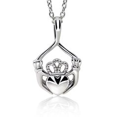 Trillion Ring, Matching Rings, Claddagh, Silver Necklaces, Sterling Silver Chains, Gifts For Mom, Jewelry Box, White Gold, Bling
