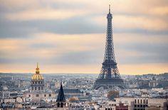 Expect More Cheap Flights to Paris, Thanks to a New Airline Partnership — Condé Nast Traveler Gustave Eiffel, Romantic City Breaks, New Airline, Flights To Paris, Book Cheap Flights, Beautiful Architecture, Best Cities, Paris Skyline, Louvre