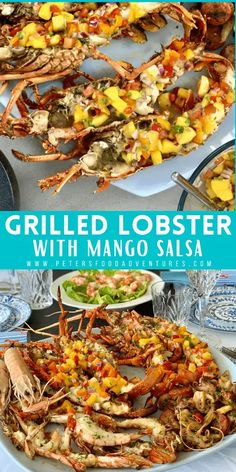 Grilled Lobster - Australian Seafood Feast - Peter's Food Adventures Great Appetizers, Healthy Appetizers, Healthy Breakfast Recipes, Easy Healthy Recipes, Lunch Recipes, Yummy Recipes, Healthy Snacks, Crab Recipes, Salmon Recipes