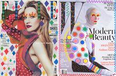 こんな落書きなら許しちゃう? ブラジル人のインテリアデザイナー Ana Strumpfさん が、ファッション雑誌のカバー ...