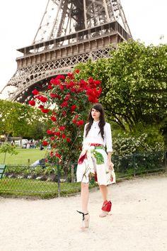 The Cherry Blossom Girl - Pendentif Les Néréides Paris
