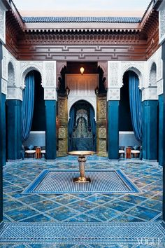 Morocco Travel Inspiration - Vogue Daily — Royal Mansour