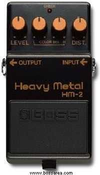 BossArea - Boss HM-2 Heavy Metal; a classic pedal for that Swedish death metal tone