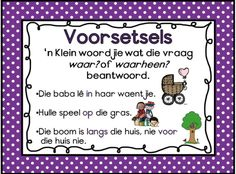 Voorsetsels Quotes Dream, Life Quotes Love, Robert Kiyosaki, Napoleon Hill, Tony Robbins, Afrikaans Language, Activities For Boys, School Posters, Spelling Words