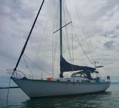 'Salicorne', a Ted Brewer designed Whitby 42 (built 1980 and launched 1981 in Ontario Canada) is for sale in Asia. Sailing Yachts For Sale, Yacht For Sale, Used Sailboats For Sale, Sailboat Cruises, Catamaran Charter, Yacht Design, Speed Boats, Luxury Yachts, Riviera Maya