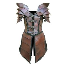 LARP armor. Or protection for when time traveling to potentially dangerous locations with your steam-powered time machine.