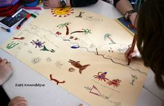 Ζωγραφίζω μια αφίσα με αφορμή μια ιστορία από τη Σοφή Κουκουβάγια™